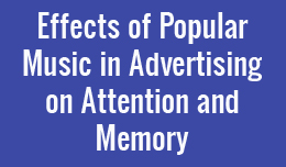 the effects of music in advertising Subconscious effects of music indirect advertising can also affect us as consumers an oft-cited investigation by north, hargreaves & mckendrick [9] observed that german music influenced consumers to purchase more german wine in a supermarket.